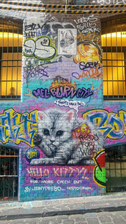 Hosier Lane Graff Street Art