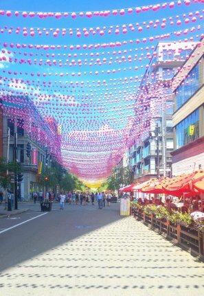 Rue Berri Montreal