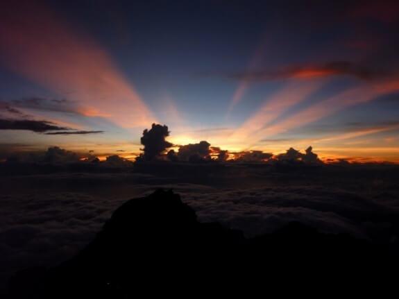 lever de soleil rinjani
