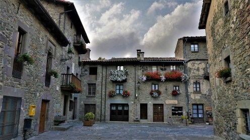 Village médiéval Espagnol