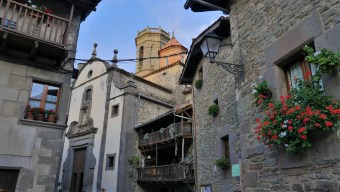 Village charmant Espagne