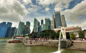 Singapour Skyline bay