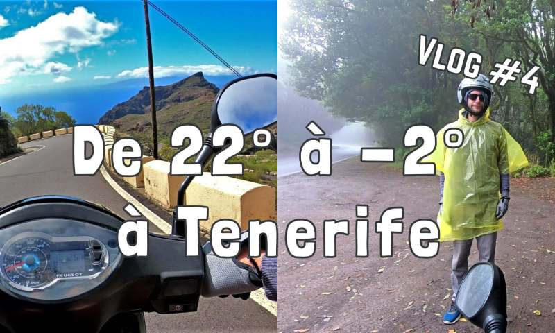 vlog tenerife scooter
