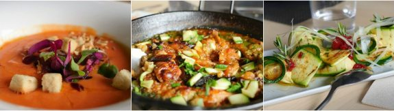 plats espagnols gazpacho