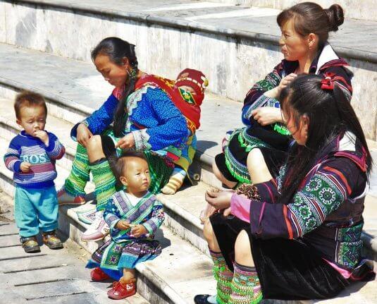 Hmong Sapa vêtements