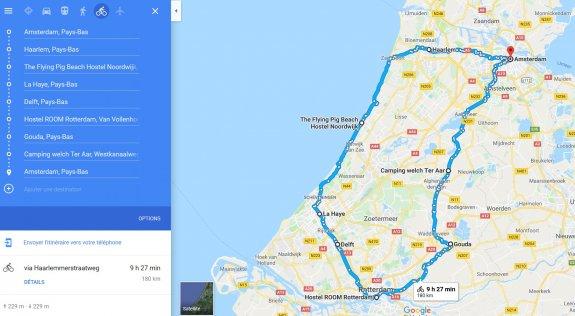 Pays Bas à vélo