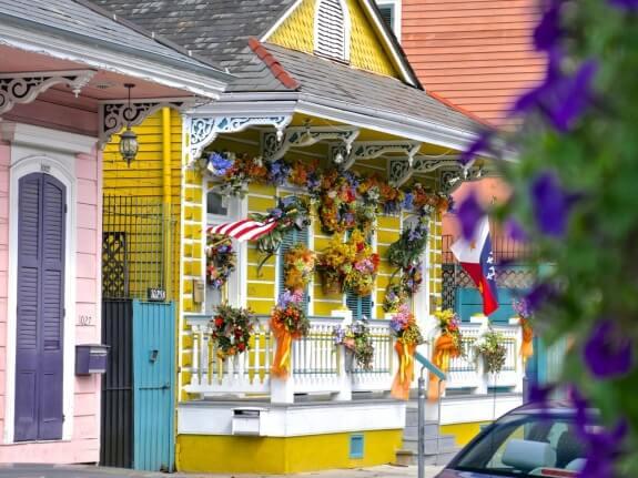 maison colorée nouvelle orleans