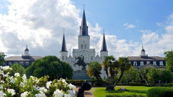 cathédrale Saint-Louis nouvelle orléans