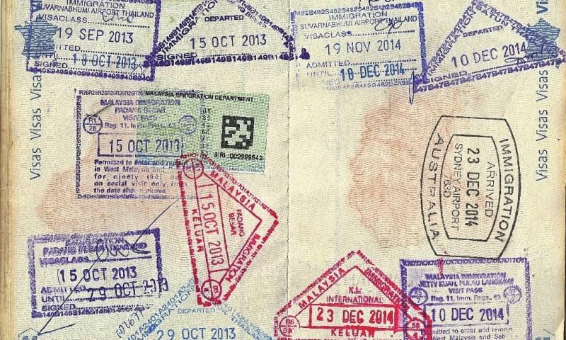 tampons passeport