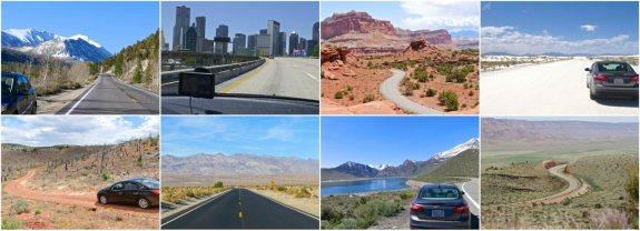 collage road trip usa bilan
