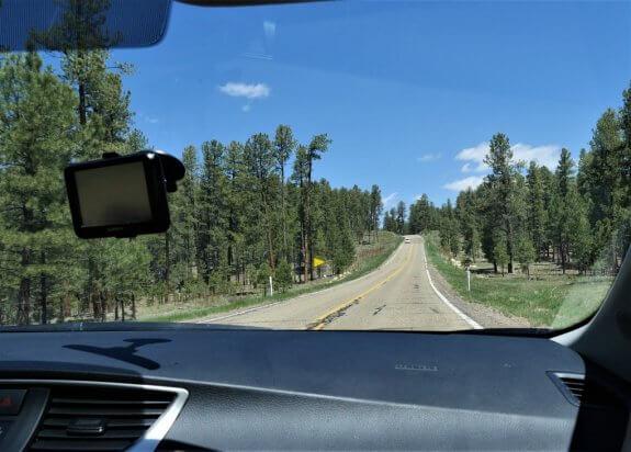 Route 89 entre Zion et Bryce