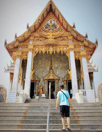 temple thailandais wat hua lamphong