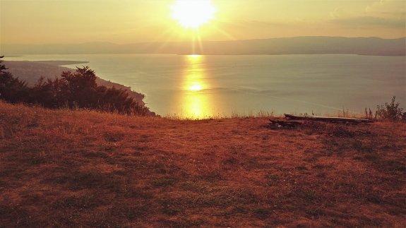 Thollon Hucelle panorama lac