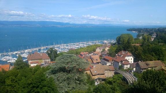 thonon vue port
