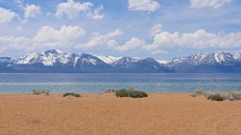 plage Nevada lac Tahoe