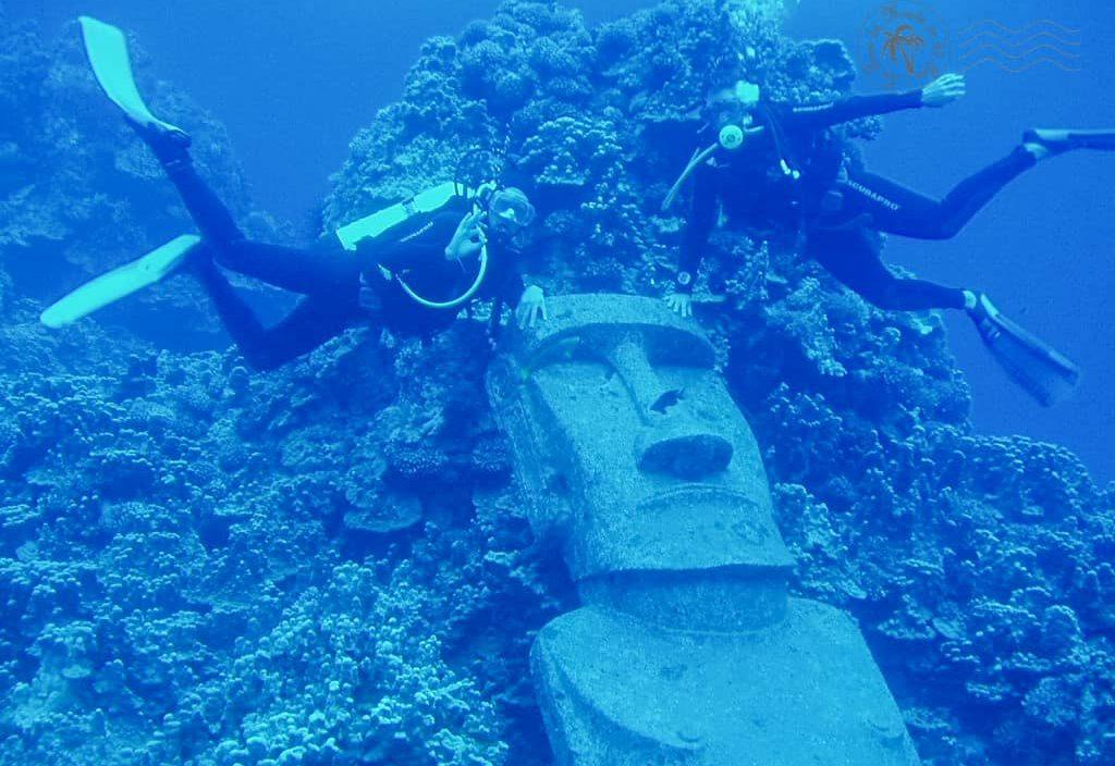 Plongée à l'île de Pâques - Chili