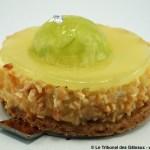 Cheesecake au Citron par le Mandarin Oriental