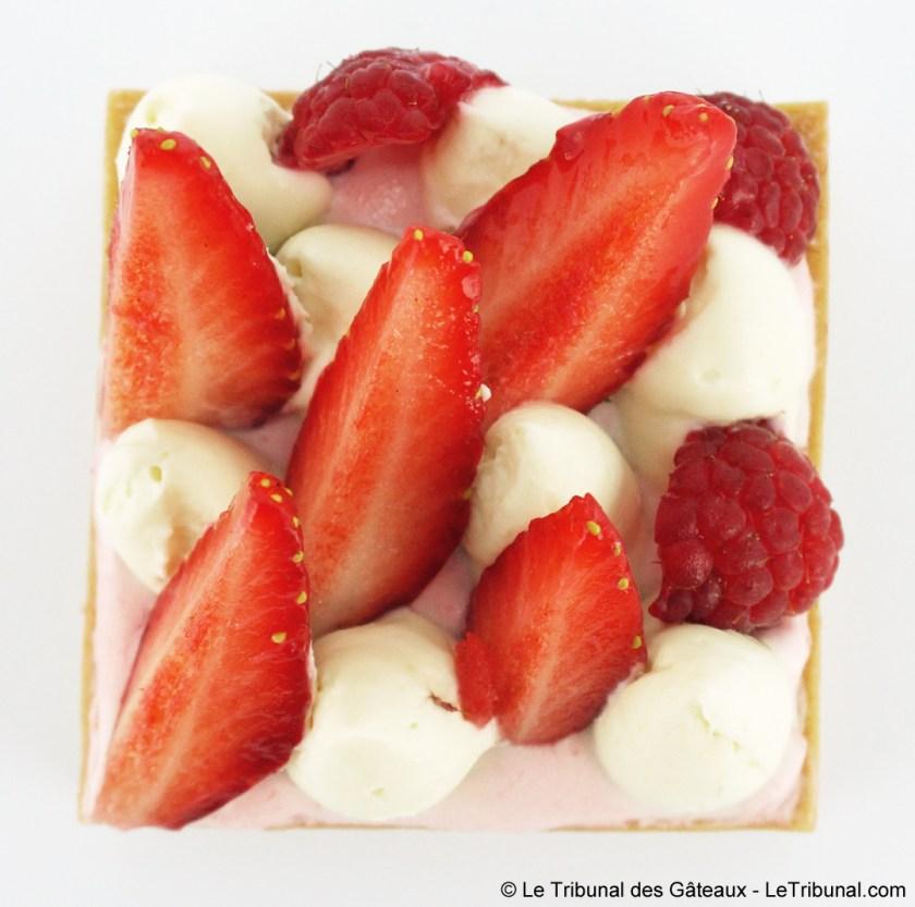 la maison de la chantilly tarte fruits rouges