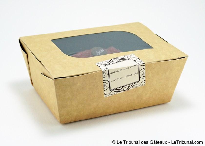 hôtel scribe tarte aux framboises
