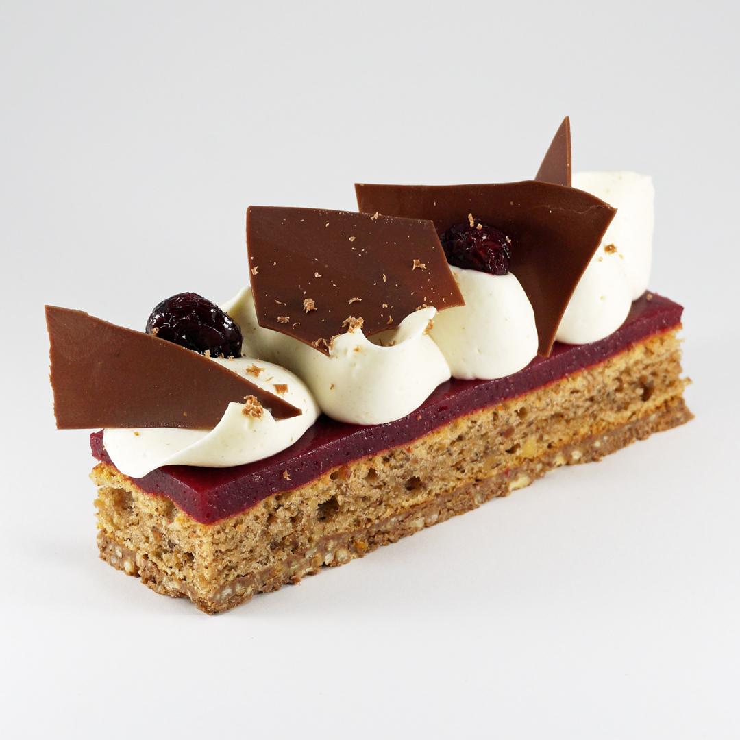 [Montréal] Croustillant et Cake Moelleux aux Pacanes, Erable, Canneberge et Candy Cap par Patrice Demers