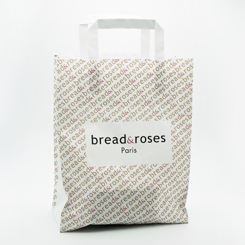macaron framboise basilic bread & roses