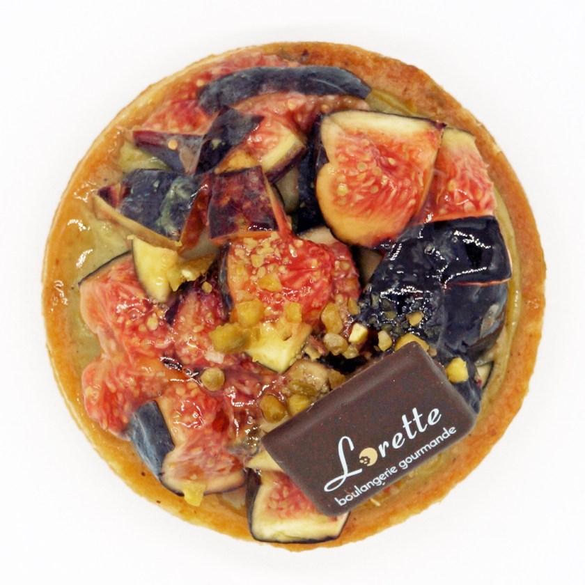 tarte aux figues boulangerie lorette