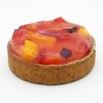 Tarte aux Prunes Rouges et Jaunes par Boulangerie Bo