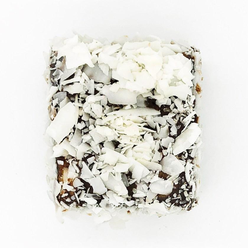 panna cotta Lamington cake by flour and stone sydney