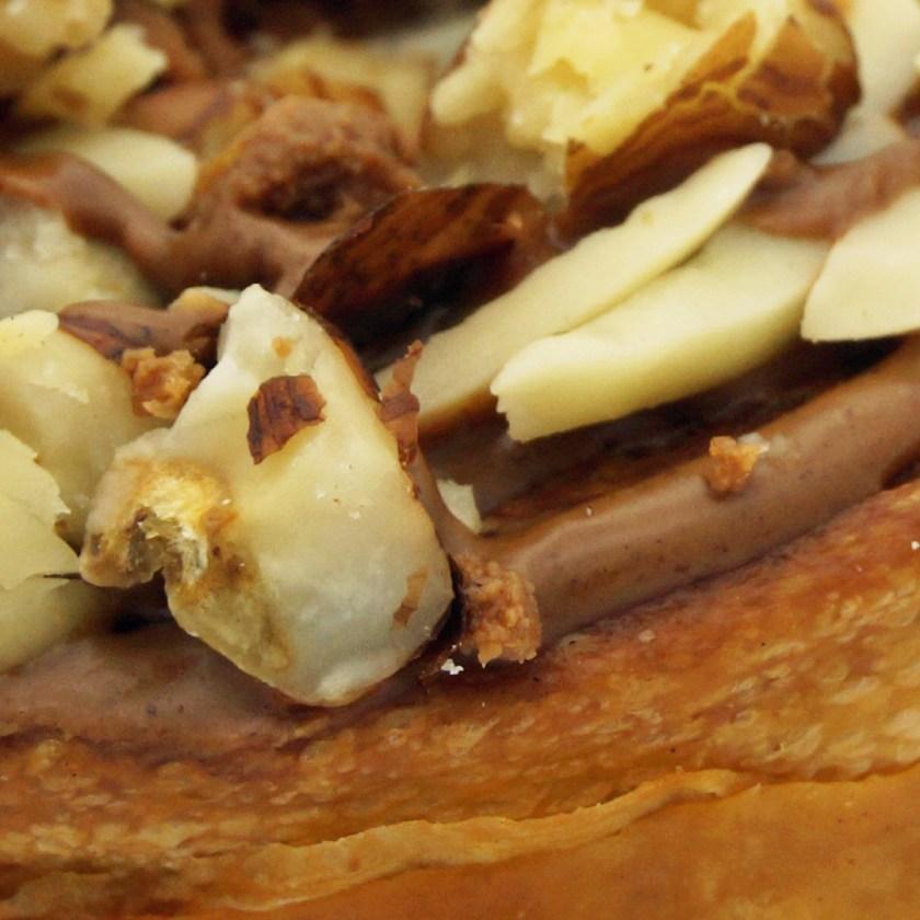 feuilleté praliné boulangerie Sain