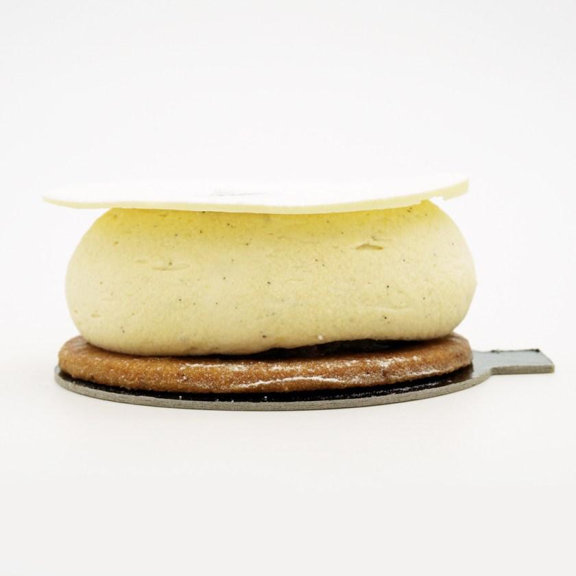 tarte à la vanille la goutte d'or yann menguy
