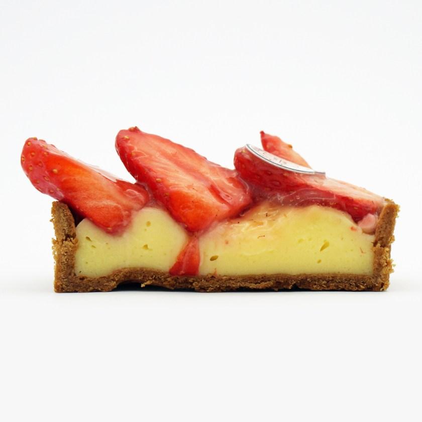 tarte aux fraises farine & o