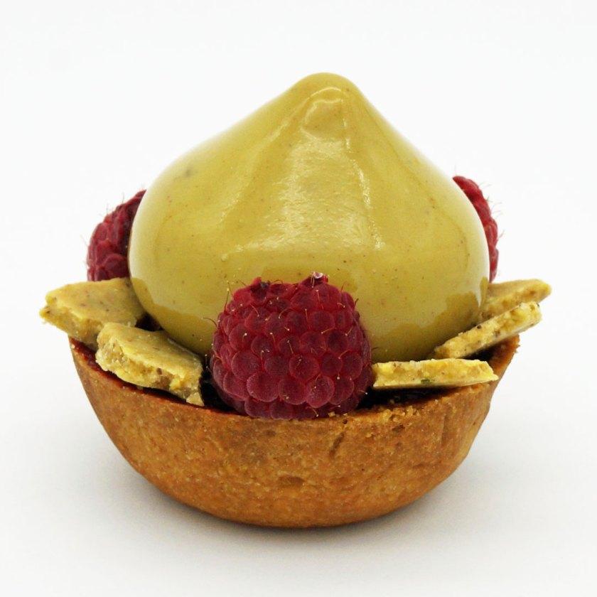 tarte pistache framboise Arnaud lacroix