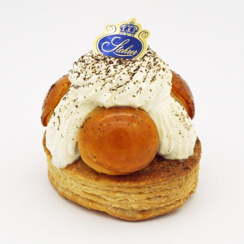 saint-honoré vanille stohrer