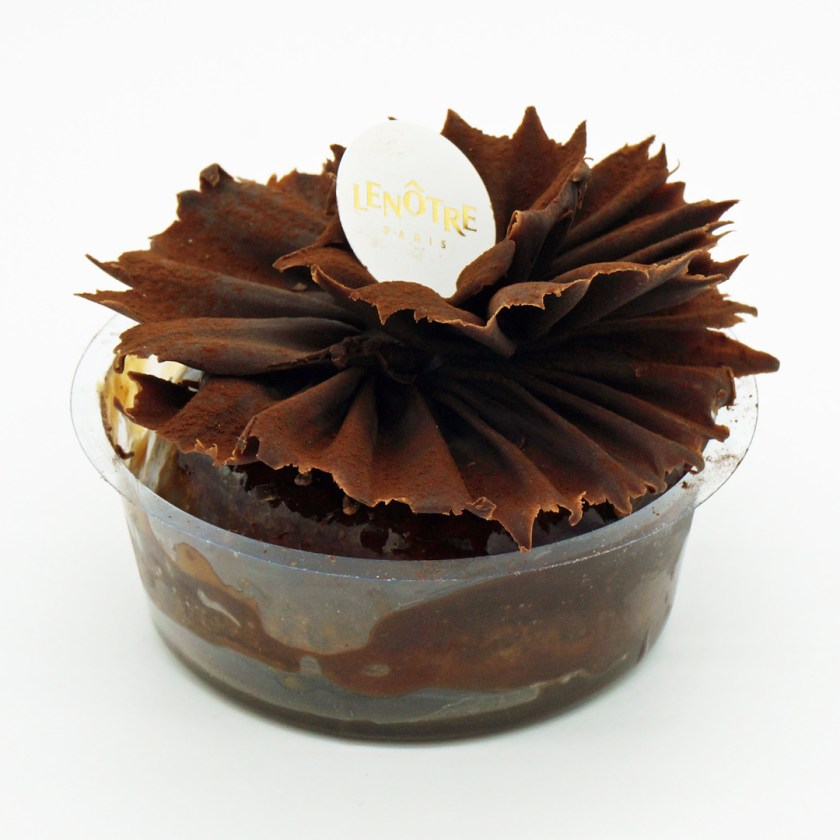 baba chocolat rhum raisin lenôtre