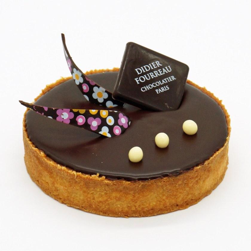 Tarte au Chocolat par Didier Fourreau