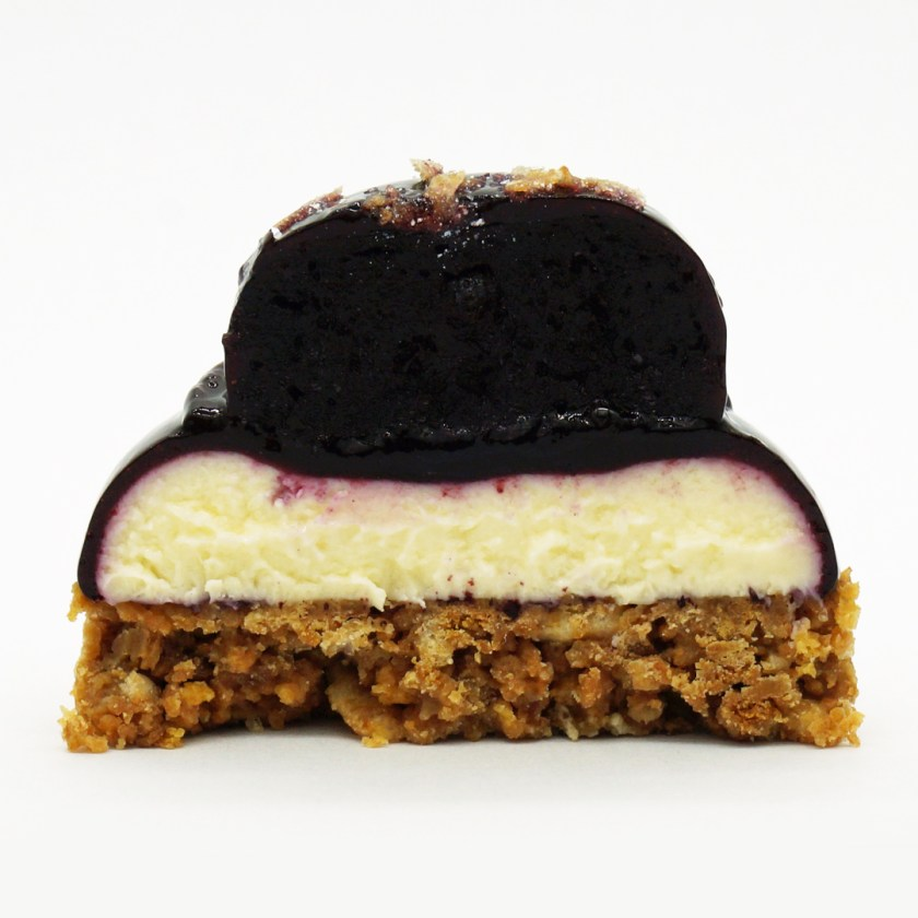 cheesecake myrtilles spéculos les artizans