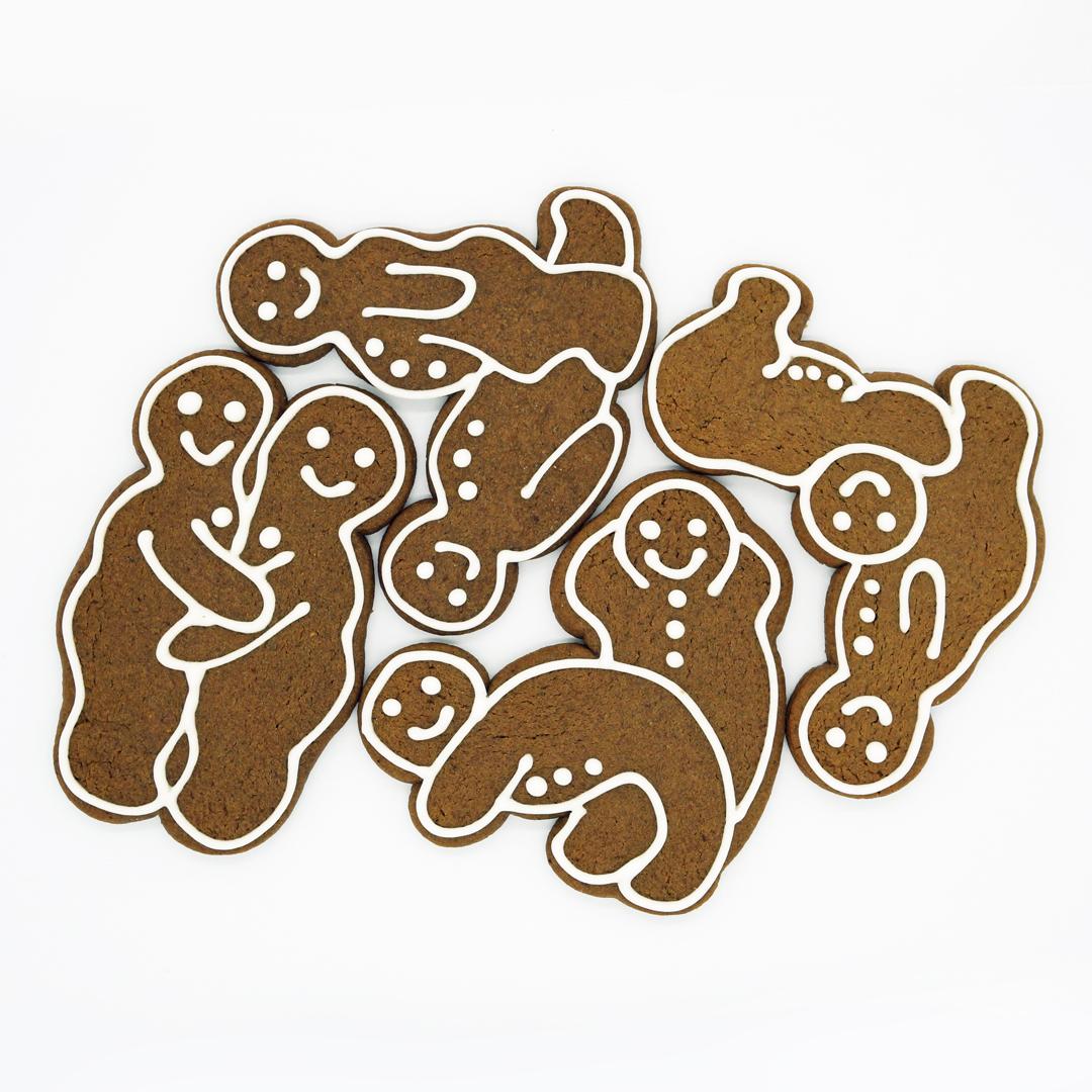 Kamasutra Gingerbread par Jean Hwang Carrant
