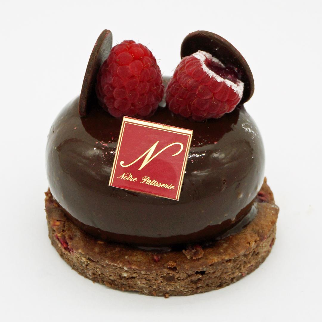 Choco Cœur Framboise par Notre Pâtisserie