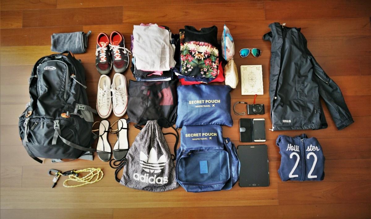 Weltreise mit Handgepäck - eine Packliste für Frauen