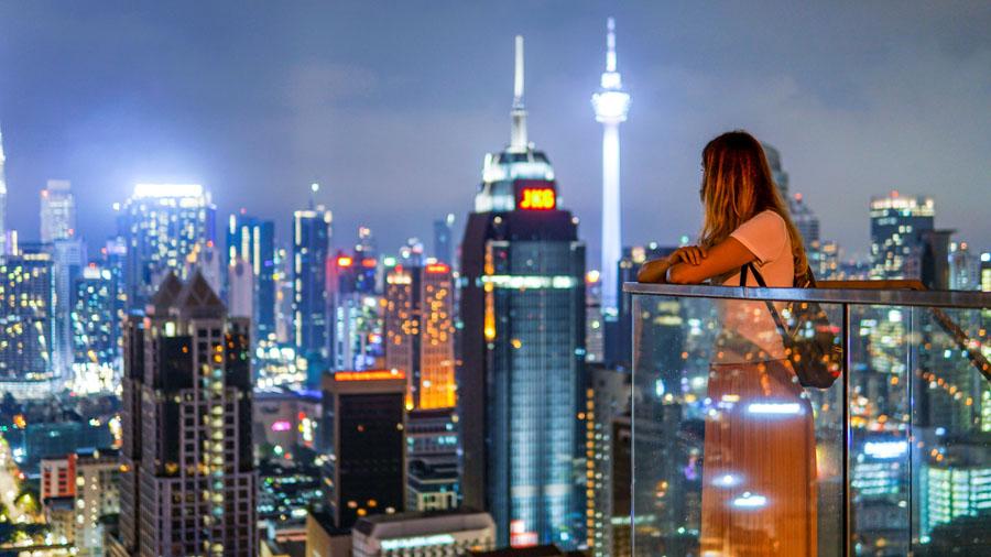 Kuala Lumpur - Petronas Towers - View from Regalia Residence