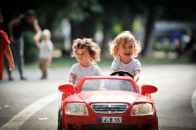 Elbil för barn - verkliga bilmodeller