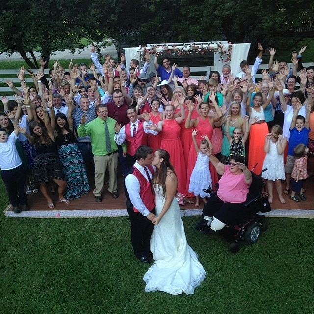The Shared Wedding: The Reception, part 1