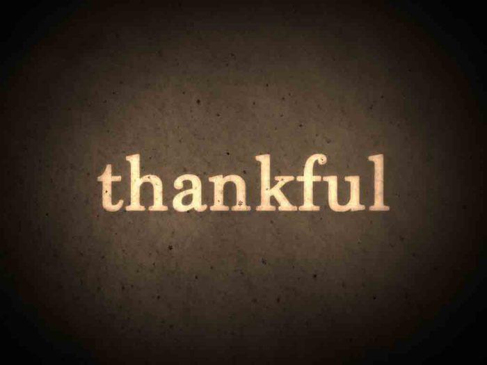 Random Things I'm Thankful For