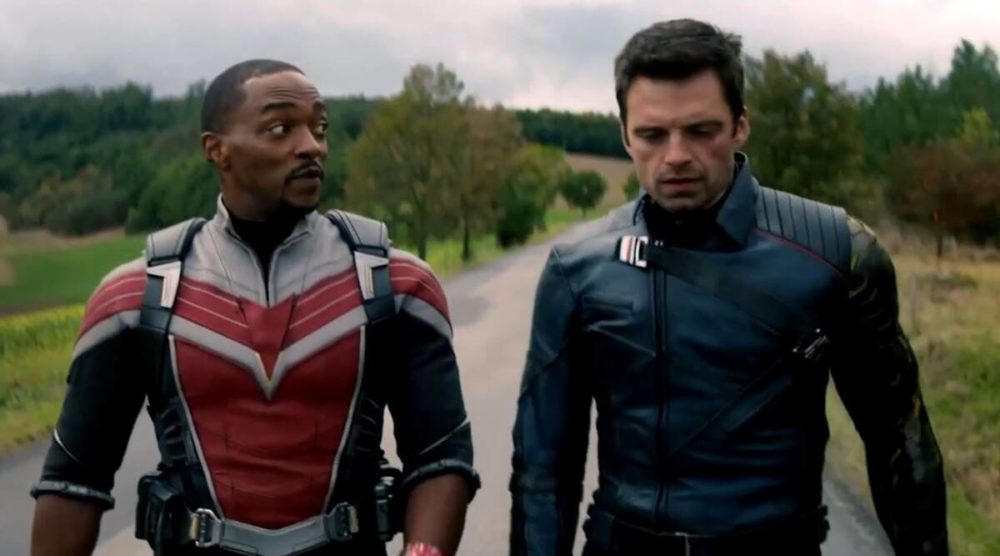 Let's Digress About the Falcon and the Winter Soldier and Racism