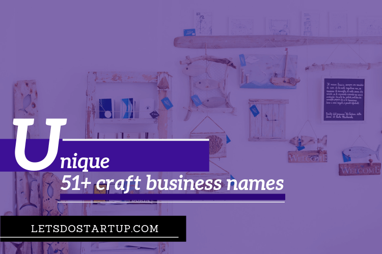 craft business names