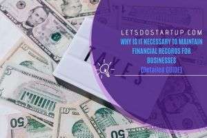 financial records for businesses