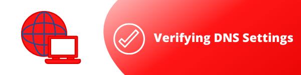 5. Verifying DNS Settings