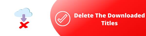 delete downloads on netflix
