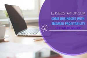 Some Business Ideas with Ensured Profitability
