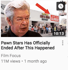 An image of a YouTube thumbnail, demonstrating a principle of catchy writing that applies to writing a good LinkedIn headline for job seekers.